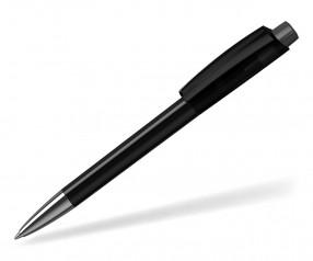 Klio ZENO Kugelschreiber TRANSPARENT HIGH GLOSS Mn ATR C1 schwarz anthrazit