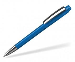 Klio ZENO Kugelschreiber TRANSPARENT MMn MTR1 blau