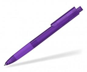 Klio TECTO transparent dreikantiger Kuli mit Griffzone VTR1 violett