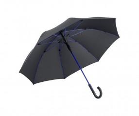 FARE Midsize Stockschirm AC 4784 Regenschirm bedrucken lassen schwarz euroblau