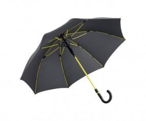 FARE Midsize Stockschirm AC 4784 Regenschirm bedrucken lassen schwarz gelb