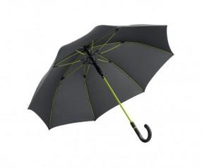 FARE Midsize Stockschirm AC 4784 Regenschirm bedrucken lassen schwarz limette