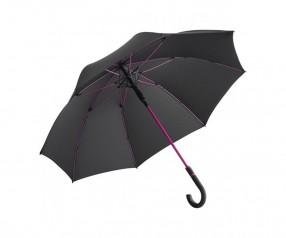 FARE Midsize Stockschirm AC 4784 Regenschirm bedrucken lassen schwarz magenta