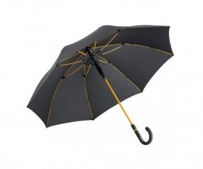 FARE Midsize Stockschirm AC 4784 Regenschirm bedrucken lassen schwarz orange