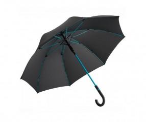 FARE Midsize Stockschirm AC 4784 Regenschirm bedrucken lassen schwarz petrol