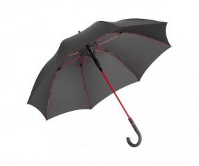 FARE Midsize Stockschirm AC 4784 Regenschirm bedrucken lassen schwarz rot
