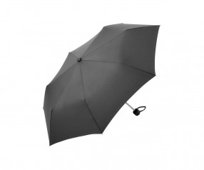 FARE Mini-Taschenschirm 5012 Regenschirm als Werbegeschenk grau