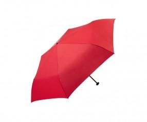 FARE Filig Rain Only95 Mini-Taschenschirm 5062 Regenschirm mit Druck rot