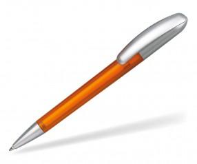 quatron Boogie silver 51055 Drehkugelschreiber Pantone 151 orange