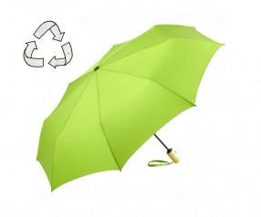 FARE ÖkoBrella Mini Taschenschirm AOC 5429 nachhaltiger Regenschirm limette