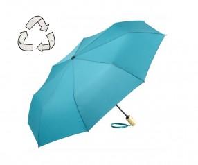 FARE ÖkoBrella Mini Taschenschirm AOC 5429 nachhaltiger Regenschirm petrol