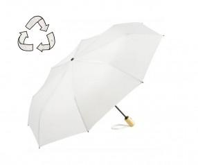 FARE ÖkoBrella Mini Taschenschirm AOC 5429 nachhaltiger Regenschirm weiss
