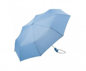 FARE Mini-Taschenschirm AOC 5460 Regenschirm als Werbeartikel hellblau