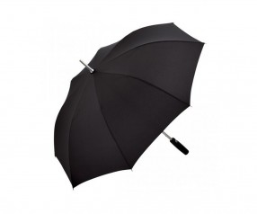 FARE Alu Stockschirm AC 7560 Regenschirm als Werbegeschenk schwarz
