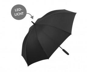 FARE Midsize Stockschirm Skylight AC 7749 Regenschirm mit LED Licht schwarz