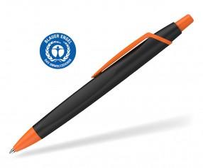 Schneider Kugelschreiber RECO 931798 blauer Engel Öko schwarz-orange