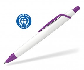 Schneider Kugelschreiber RECO 931798 blauer Engel Öko weiss-violett