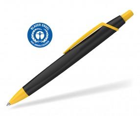 Schneider Kugelschreiber RECO 931799 blauer Engel Öko schwarz-gelb