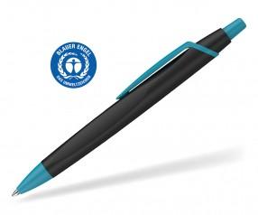 Schneider Kugelschreiber RECO 931799 blauer Engel Öko schwarz-türkis