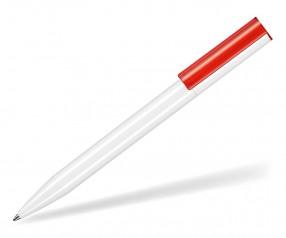 Ritter Pen Lift Recycled 93810 Nachhaltiger Kugelschreiber weiß rot