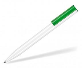 Ritter Pen Lift Recycled 93810 Nachhaltiger Kugelschreiber weiß grün