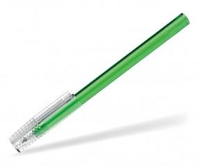 Schneider Kappenkugelschreiber Tops Promo transparent grün mit durchsichtiger Kappe