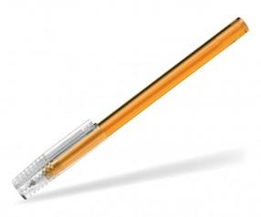 Schneider Kappenkugelschreiber Tops Promo transparent orange mit durchsichtiger Kappe