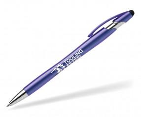 Goldstar La Jolla Iridescent AFU Kugelschreiber blau (PMS 7685) inklusive Druck
