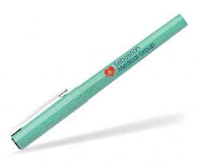 Goldstar Fox Eco Gel Kugelschreiber AFX Grün (PMS 2241) aus Weizenstroh