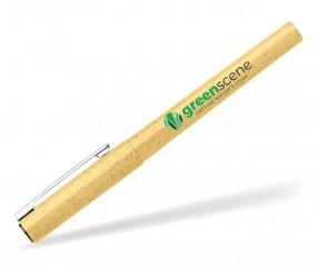 Goldstar Fox Eco Gel Kugelschreiber AFX Gelb (PMS 2005) aus Weizenstroh