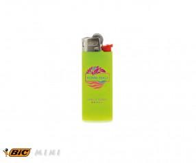 BIC 2360 Mini-Feuerzeug J25 incl. 1c-Druck mit Reibrad apfelgrün
