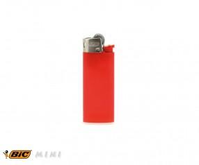 BIC 2360 Mini-Feuerzeug J25 incl. 1c-Druck mit Reibrad rot