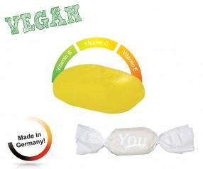 Bonbon weisser Wickler Multivitamin vegan 1-Kilo-Tüte