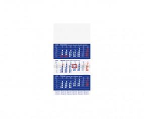 Brunnen Modell 702 10 Wandkalender mit Werbefläche