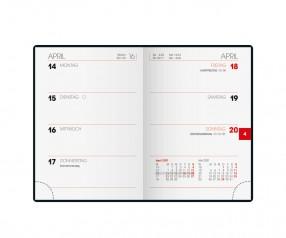 Brunnen Modell 712 Taschenkalender als Werbegeschenk