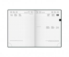 Brunnen Modell 736 Taschenkalender mit großer Werbefläche