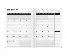 Brunnen Modell 739 SlimLine Buchkalender