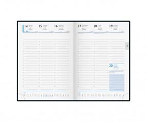 Brunnen Modell 794 Buchkalender mit individueller Prägung