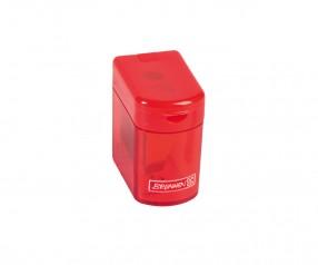Brunnen Dosenspitzer Colour Code rot inkl. Tampondruck