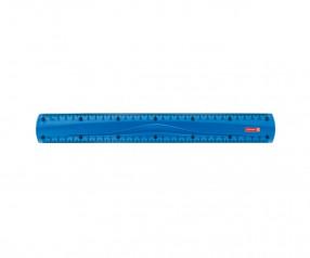 Brunnen Lineal Colour Code blau inkl. Tampondruck