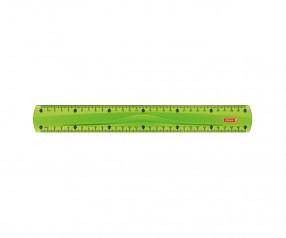 Brunnen Lineal Colour Code grün inkl. Tampondruck
