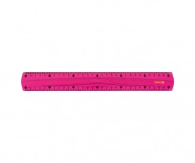 Brunnen Lineal Colour Code pink inkl. Tampondruck