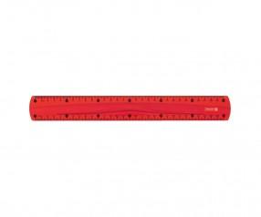 Brunnen Lineal Colour Code rot inkl. Tampondruck