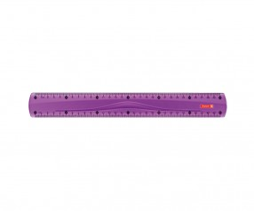 Brunnen Lineal Colour Code violett inkl. Tampondruck