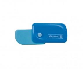 Brunnen Radiergummi Colour Code blau inkl. Tampondruck