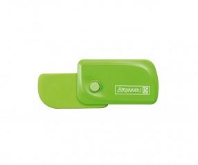 Brunnen Radiergummi Colour Code grün inkl. Tampondruck