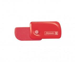 Brunnen Radiergummi Colour Code rot inkl. Tampondruck