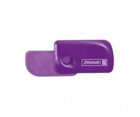 Brunnen Radiergummi Colour Code violett inkl. Tampondruck