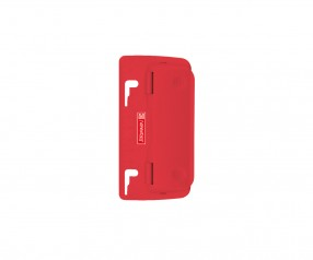 Brunnen Taschenlocher Colour Code rot inkl. Tampondruck