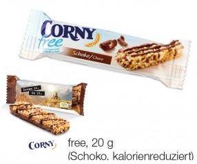 Corny Müsliriegel Free 20g Werbegeschenk incl. 4c-Digitaldruck